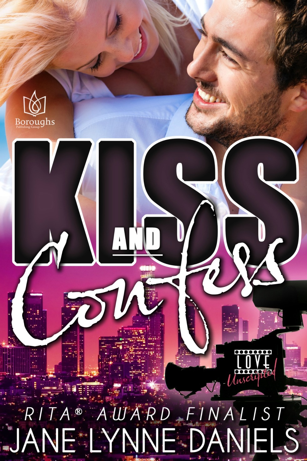 Kiss and Confess Ebook Cover
